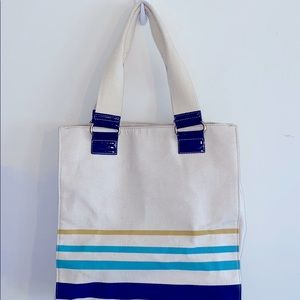 Jason Wu for Target Striped Canvas Tote Bag